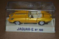 JOAL Minaturas Diecast JAGUAR-E No. 100 Made in Spain Gold Race Edition Checker