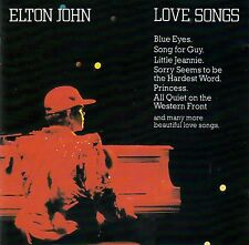 ELTON JOHN : LOVE SONGS / CD (ROCKET 811 312-2) - TOP-ZUSTAND