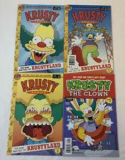 Simpsons KRUSTY COMICS #1 2 3 ~ FULL SET plus Krusty The Clown #1