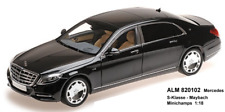 Minichamps 820102 Alm , Mercedes-Benz CLASE S Maybach – 2016 – Obsidiana Negro