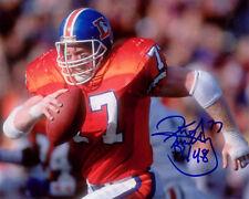 Karl Mecklenburg Denver Broncos Football SIGNED 8x10 Photo COA!