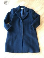 Bill Blass Women's Black Long Coat Alpaca Wool Blend Sz 14 Italy Only 1 On eBay!