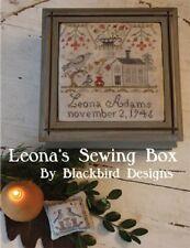 Leona's Sewing Box - Blackbird Designs New Chart