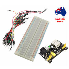 Solderless Breadboard 400 Point Arduino Raspberry Pi Power Module 65 Cable