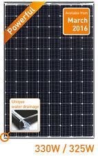 Panasonic (2pcs) HIT Power VBN325SA16 325W Mono BLK/WHT Solar Panel