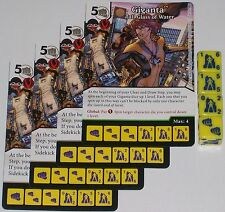 4 x GIGANTA: BIG UPS 17 Green Arrow and The Flash Dice Masters