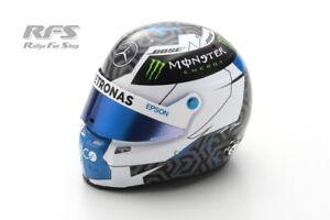 Helm Helmet Valtteri Bottas Mercedes AMG Petronas Formel 1 2020 1:5 Spark 5HF39