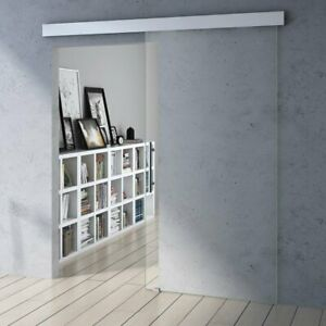 Interior Glass Sliding Doors for Home Office Heavy Duty Modern Clear 8mm