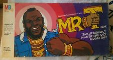 Milton Bradley Mr. T Board Game from 1983 TV Series incomplete see description