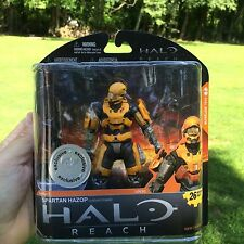 NEW & SEALED!!! Halo Reach Series 1 **Gold Spartan Hazop Toys R Us Exclusive**