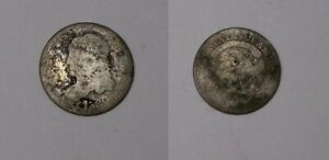 1830 CAPPED BUST SILVER HALF DIME $500-5