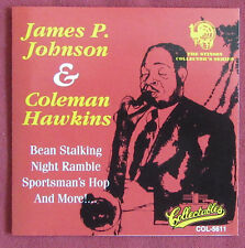 JAMES P JOHNSON & COLEMAN HAWKINS  CD  THE SESSION COLLECTOR SERIES