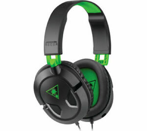 TURTLE BEACH Ear Force Recon 50X Gaming Headset - Black & Green - Currys