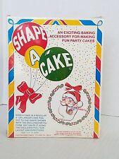 Shape A Cake Metal Santa Giant Cookie Cutter 7 x 9 USA NOS Fox Run