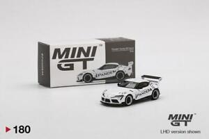 MINI GT 1:64 Mijo Exclusives Pandem Toyota GR Supra V1.0 White