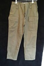 WILD RIVER Jungle Wear Khaki Pants Womens Size 12