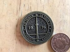 More details for canada's wonder of the world. cn tower 1976 .good condition. token coin souvenir