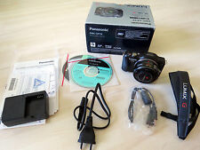 Panasonic LUMIX DMC-GF5X 12.1MP  - Schwarz (Kit mit ASPH 14-42mm Vario PZ)