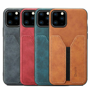 Shockproof Leather Card Wallet Phone Case For iPhone 11 12 Pro Max XR XS 7 8 SE