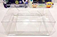 5 Box Protectors for various FUNKO POP! 2 PACKS.  PLEASE READ DESCRIPTION! cases