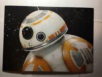 new !!! Star Wars - The Force Awakens - Blu-ray/DVD/Digital HD Lithograph Disney