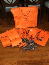 Hermes Empty Boxes Ribbons Bags