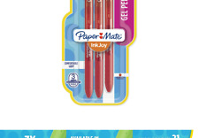 New listing Paper Mate InkJoy Gel Pens, Medium Point, Red, 3 Count 3-Count