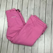 Columbia Vertex Girl's Snow Ski Pants Pink Size 14/16