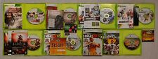 Xbox 360 Game Lot Fable 2 Dante's Inferno Dynasty Warriors 7 NBA 2K10 Madden 10