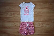 Seed Heritage: Girls Pyjama Sleepwear Set (Shorts and Top), Size 5-6