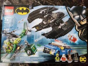 LEGO DC Universe Super Heroes Batman Batwing and The Riddler Heist Set (76120)