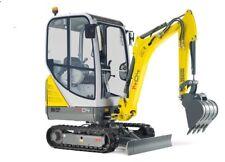 WACKER NEUSON 1404 Track Excavator Service , Operator's  & Parts Manual CD