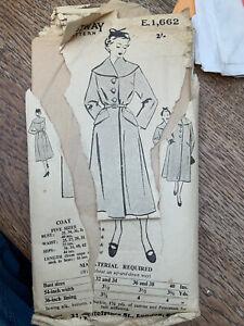 Bestway 1940's Coat Pattern