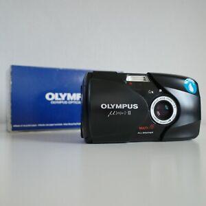 [EXCELLENT] Olympus mju II Stylus Epic | 35mm Sharp Lens Compact Film Camera