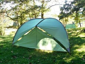 Alps Mountaineering Tri-Awning Tent, 100% Complete For Parts, Some Small Rips