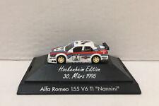 Herpa Alfa Romeo 155 v6 TI Nannini Car Hockenheim Edition 30. Marz 1995 #7 Model