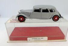 29565 DUBRAY / FRANCE / RESINE. CITROEN TRACTION 11B LIMOUSINE 1938 1/43