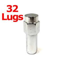 "32x Excalibur 8854 Lug Nuts 1/2"" Chrome Cragar SST Mag"