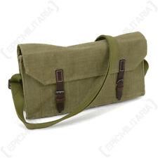 WW2 Russian Anti Tank Rifle Cartridge Bag - Leather Straps - Repro Army Satchel