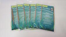 "HiyaHiya BAMBOO Fixed Circular needles, 2-10 mm, 32"", 80cm,"
