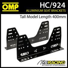 HC/924 OMP ALUMINIUM RACE SEAT SIDE MOUNT BRACKETS ULTRA STRONG in 6mm FIA