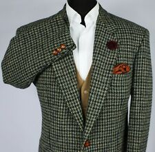 Harris Tweed Blazer Jacket Windowpane Wedding Country 44XS SPECIAL WEAVE 1897