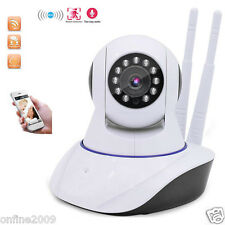 1.0MP Two-way Audio Chatting Baby Camera Wireless WiFi IP Security Pan Camera*