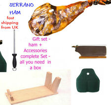 5pcs Serrano Ham Paleta (Shoulder) 4kg 12 Months Curation + FREE 4pcs set STAND