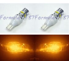 LED Light 50W 921 Amber Orange Two Bulbs Back Up Reverse Replacement Lamp Fit