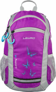 Lewro Kinderrucksack Timmy Butterfly Outdoor Rucksack 8 Liter mit Brustgurt