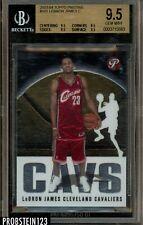 2003 Topps Pristine #101 Lebron James RC Rookie BGS 9.5 GEM MINT