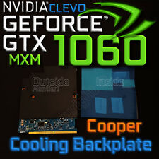 Cooper Cooling Backplate ✔ ⟴ nVidia GTX 1060✔ 1080✔ 1070✔ CLEVO MXM✔ ⟴ RTX 2060