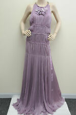 $8,500!!EXQUISITE J. MENDEL Mousseline Lavender Runway Dress Gown 8 fit 4 6 RARE