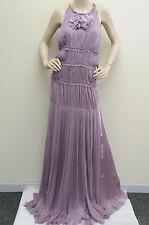 $8,500!!EXQUISITE J. MENDEL Mousseline Lavender Runway Dress Gown 8 fit 4 6 RARE